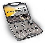 Amboss - Diamant Fliesenbohrer-/Bohrkronen - Set 9 tlg. (Ø 5-68 mm) Premium Black Edition | M14 für Winkelschleifer | Fliesen, Granit, Feinsteinzeug