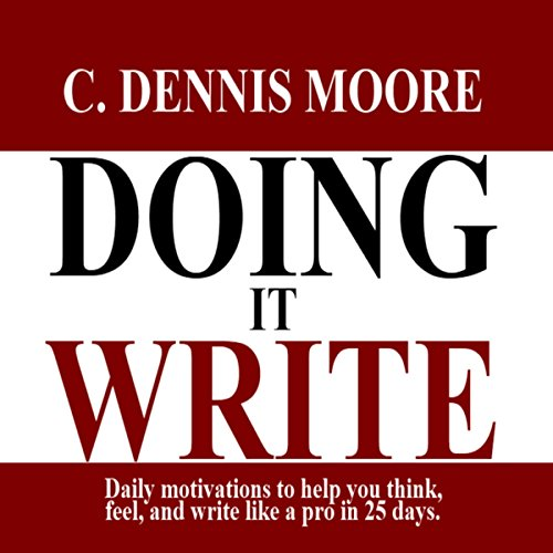 Doing It Write audiobook cover art