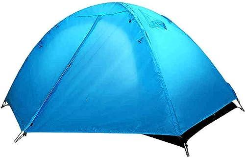 BJYG Tente extérieure 2 Personnes Accueil Camping Camping Camping Simple tentes extérieures Trolley