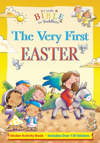 The Very First Easter [With Over 130 Stickers] (Candle Bible for Toddlers)
