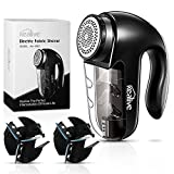 9. Kealive Fabric Shaver, Lint Remover, Fabric Defuzzer with Two Large Replaceable Blades & Removable Bin, Battery Operated, AC Adapter, Lint Shaver for Clothes, Fabrics and Furniture