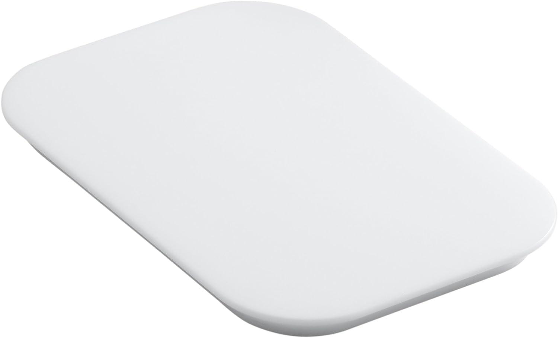 KOHLER K-5836-0 Bakersfield Polyethylene Cutting Board, White