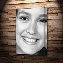 Seasons Leighton Meester - Canvas Print (A4 - Signed by The Artist) #js004