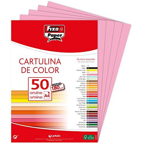 Fixo 11110353–Confezione di 50cartoncini, A4, colore:...