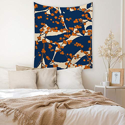 KHKJ Géométrique rayé imprimé Tapisserie tenture Murale Feuille décorative décor à la Maison Salon Tapis Chambre Tapisserie A8 200x150 cm