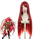 Anime Shakugan No Shana/Erza Scarlet/Musujime Awaki/Emilia Justina Cosplay peluca Peruca Universal disfraz jugar pelucas 036