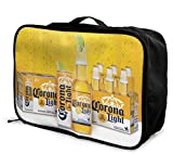 PerterOne Corona Light Customize Casual Portable Travel Bag Suitcase Storage Bag Luggage Packing Trolley Bag