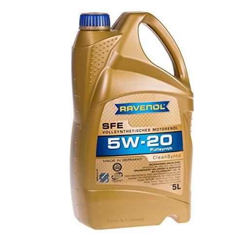 Ravenol 5W-20  Super Fuel Economy - Aceite para motor, 5L