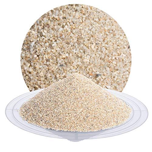 25 kg Quarzsand beige in verschiedenen Körnungen von Schicker Mineral, speziell geeignet für enge Fugen (0,71-1,25 mm)