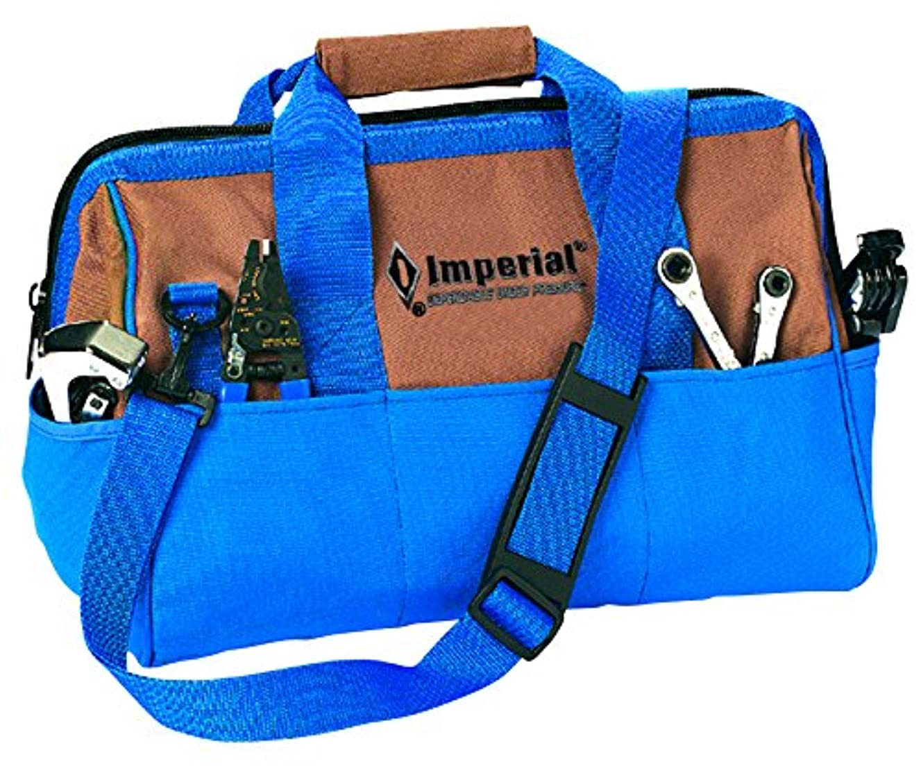 Imperial Tool TB52 15 Pocket Professional Tool Bag with Strap