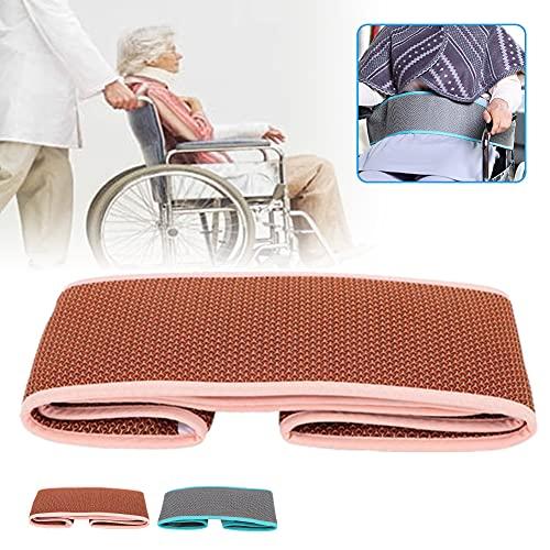 Cinturón de seguridad para silla de ruedas Correa de asiento ajustable para cuidados de pacientes Cinturón de posicionamiento antideslizante Se usa para cuidar a los pacientes