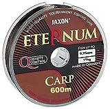 Jaxon Eternum Carp - Sedal de pesca (300 m, 0,25-0,35 mm, 0,325 mm/600 m)