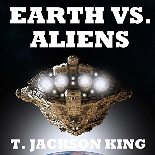 Earth vs. Aliens audiobook cover art