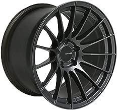 Enkei RS05-RR 18x10.5 22mm ET 5x114.3 75.0 Bore Matte Gunmetal Wheel Evo 10 (enk484-8105-6522GM)