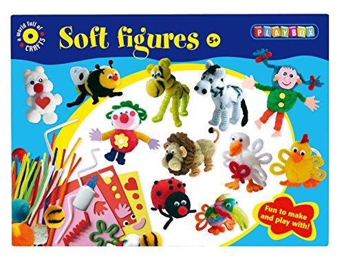 Playbox Ensemble de Figurines Souples