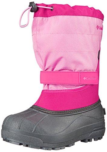 Columbia Unisex dziecięce buty trekkingowe dla dzieci Powderbug Plus_ii, różowy - Pink Glamour Orchid 640glamour Orchid 640-30 EU