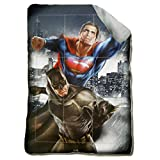 DC Comics Trapunta Invernale Supereroi Batman Vs Superman Dawn of Justice 180x260cm Imbottitura 320gr/mq