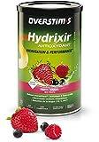 OVERSTIM.s – Hydrixir Antioxydant (600g) - Fruits Rouges – Boisson énergétique isotonique pour le sport - Hydratation et Performance – Arômes naturels - Sans acidité - Sans conservateur