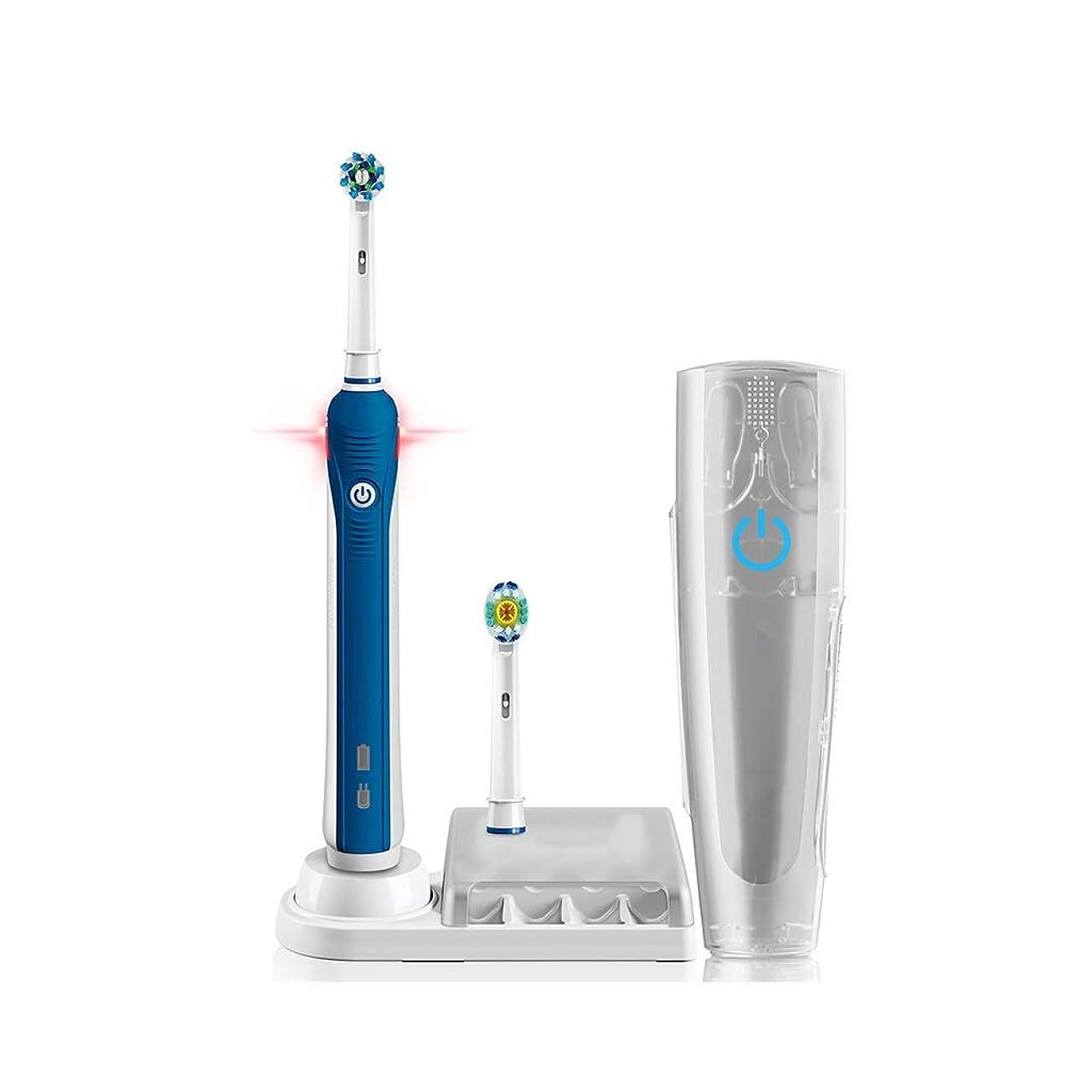 尊厳ガム線形電動歯ブラシ ?3D音波振動電動歯ブラシ大人充電式歯ブラシでブラシヘッド* 2?トラベルボックス