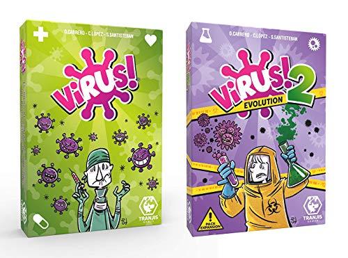 Outletdelocio.- Pack Juego Cartas Expansión Virus 2 Evolution (Tranjis Games. 62304)