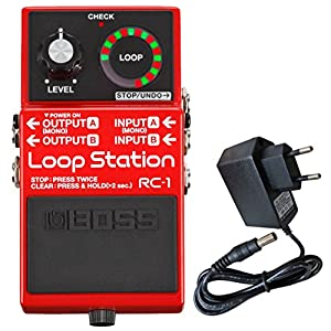 Boss RC-1 Loop Station Looper-Pedal + keepdrum Netzteil 9V