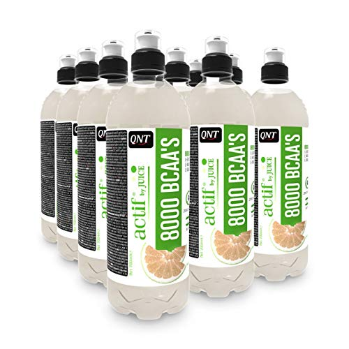 Qnt BCAA 8000 White Grapefruit, (12 x 700 ml)