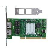 PCI Gigabit Network Adapter with Intel Chipset 82546 Dual RJ45 Copper Port 10/100/1000 mbps 32 Bit Gigabit 8492MT PCI Server Ethernet Network Card NIC