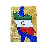Iran 3D Flagge Karte Kühlschrank Magnet Tourist Souvenir Reise Aufkleber, Iran Kühlschrank Magnet, Haus & Küche Dekoration Kollektion von China