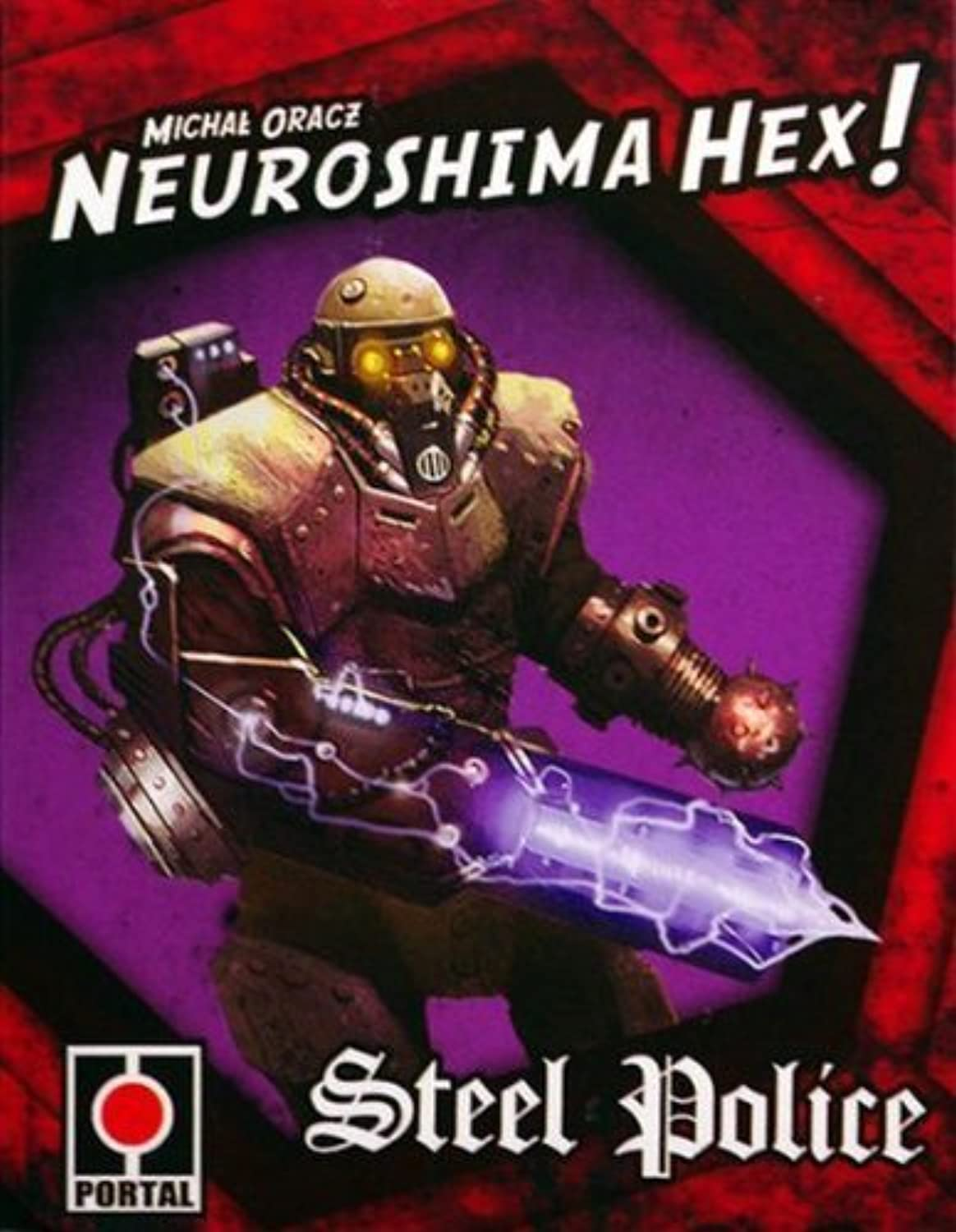 Neuroshima Hex Steel Police Board Game by Zman Games [Toy]