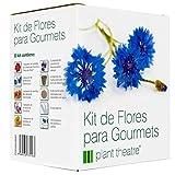 Plant Theatre Semillas de Flores Comestibles para Cocina Gourmet, 6 Variedades -...