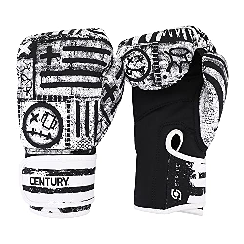 Century Strive Machine Washable 10 oz Boxing Gloves for Fitness, Boxing, Cardio Kickboxing Workouts, (Street)
