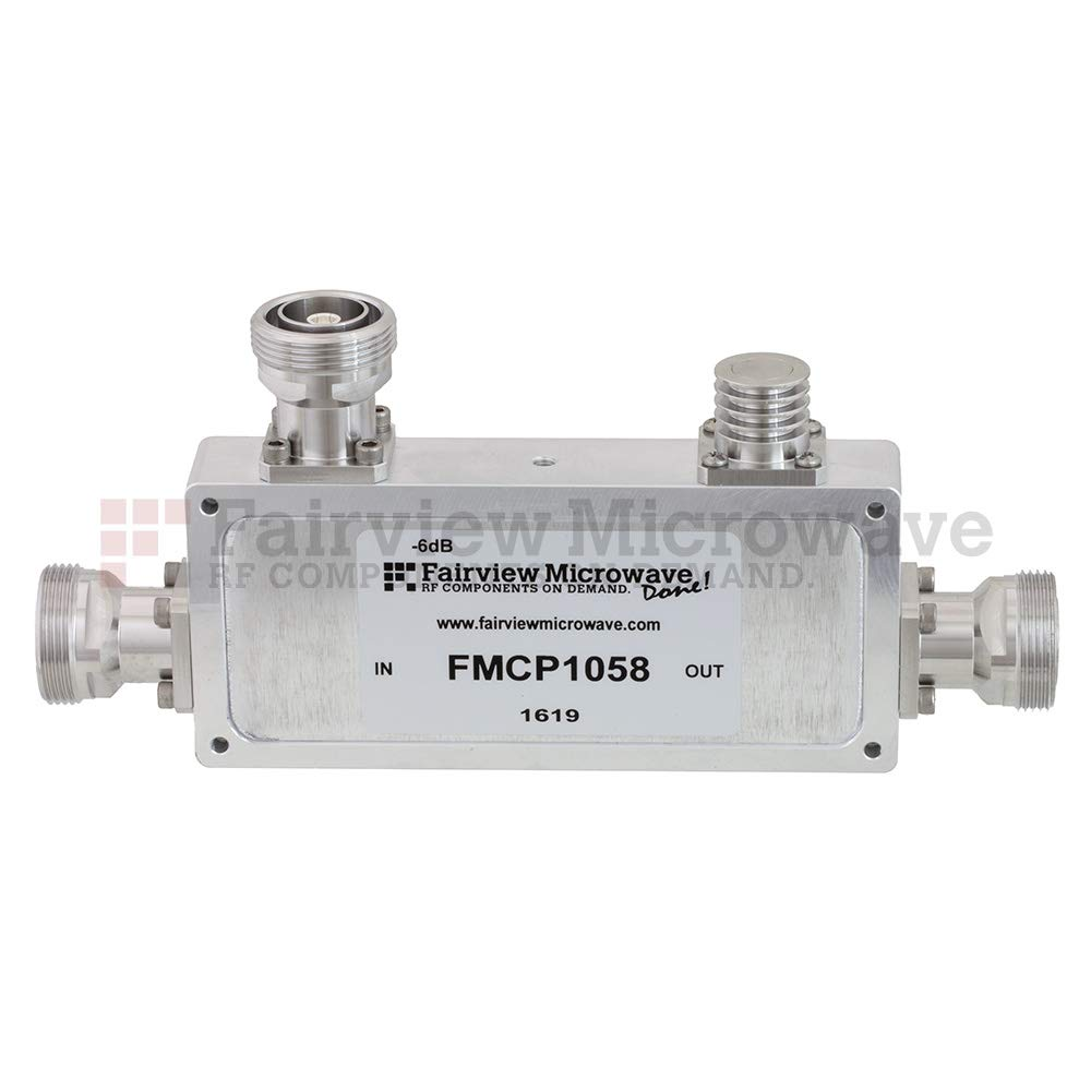 Fairview Microwave online shop FMCP1058 7 16 DIN 6 Mesa Mall Co dB Coupler Directional