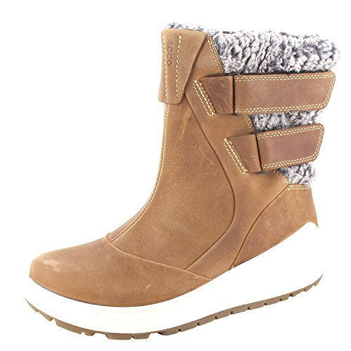 ECCO Women's Noyce Snow Boot, Cashmere, 41 EU / 10-10.5 US