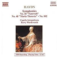 Haydn;Syms.45, 48 & 102