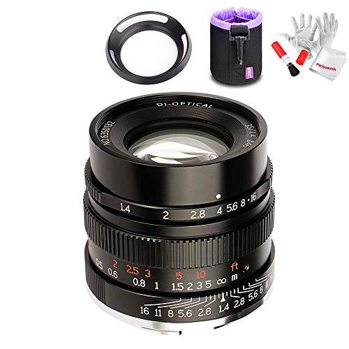 7artisans 35mm F1.4 交換用レンズ カメラSONY Eマウント用 A7 A7II A7R A7RII A7S A7SII A6500 A6300 A6000対応 大口径 手動フォーカス アルミ製 コンパクト ワンセット