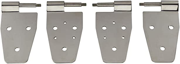 Red Hound Auto Premium Greasable Tailgate Hinge Pin Bushing RePair Kit Compatible with Jeep Wranger TJ 1997-2006