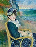 Renoir LARGE Notebook #4: Pierre-Auguste Renoir Notebook College Ruled to Write in 8.5x11 LARGE 100 Lined Pages - By the Seashore - Cool Artist Gifts