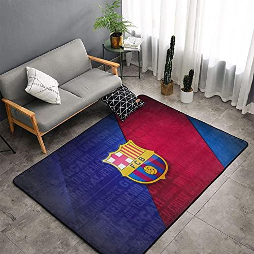 Bar-ce-lona - Alfombra antideslizante supersuave, alfombra grande, decoración del hogar, para sala de estar, dormitorio, sala de juegos, comedor, guardería, 152,4 x 99,1 cm
