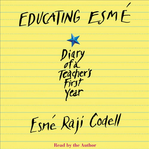 Educating Esme audiobook cover art