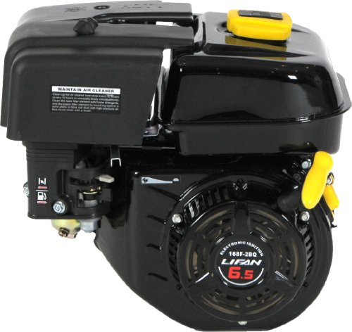 Lifan LF 168F-2BDQ 6-1/2 HP 196cc 4-Stroke OHV Industrial Grade Gas Engine with Eletric Start and Universal Mounting Pattern