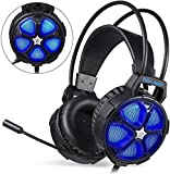 XXT PS4, PC, Cool 2000 auriculares estéreo para juegos con...