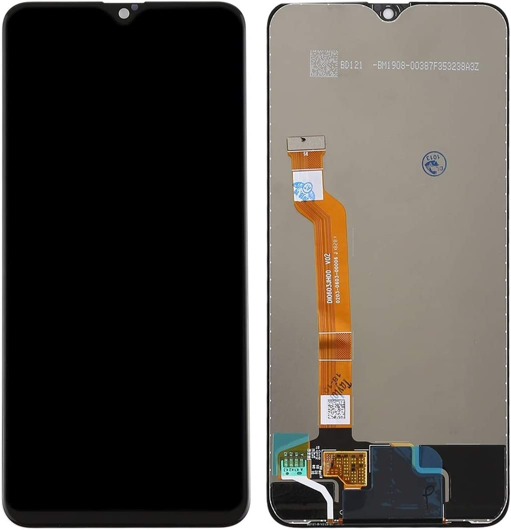 LCD Screen LCD Screen and Digitizer Full Assembly for Oppo F9 // A7X Repair Parts Black Color : Black