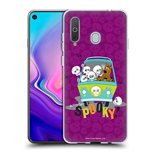 Head Hülle Designs Offizielle Scooby-DOO Gruselig Staffeln Soft Gel Handyhülle Hülle Huelle kompatibel mit Samsung Galaxy A8s (2018)
