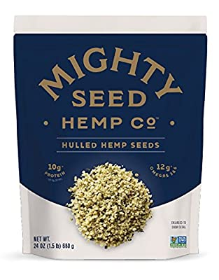 Mighty Seed Hemp Hulled Seeds, 24 Ounce by Manitoba Harvest - Manufacturer Accelerator