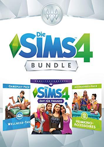 Die Sims 4 Bundle - Zeit für Freunde, Wellness Tag, Movie Hangout Accessoires DLC | PC Download - Origin Code