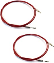 (2) New Snow Plow T-Handle Control Cables (Old Style) 55363 Western Snowplow Blade
