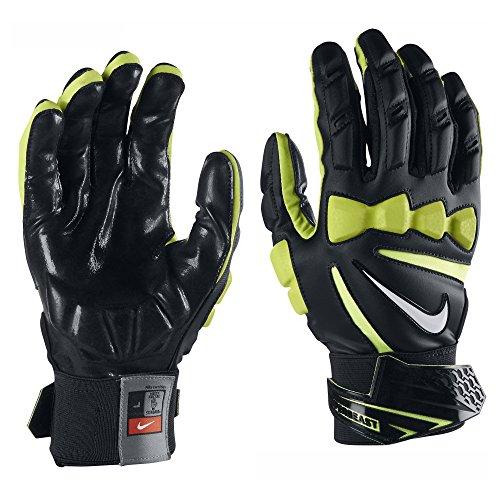 Nike Hyperbeast 2.0 Football Lineman Gloves (Black/White, X-Large)