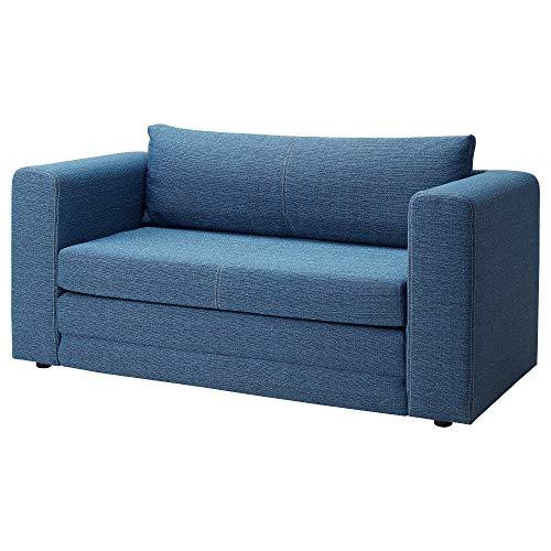 ASKEBY sofá-cama de dos plazas 149x72x72 cm azul
