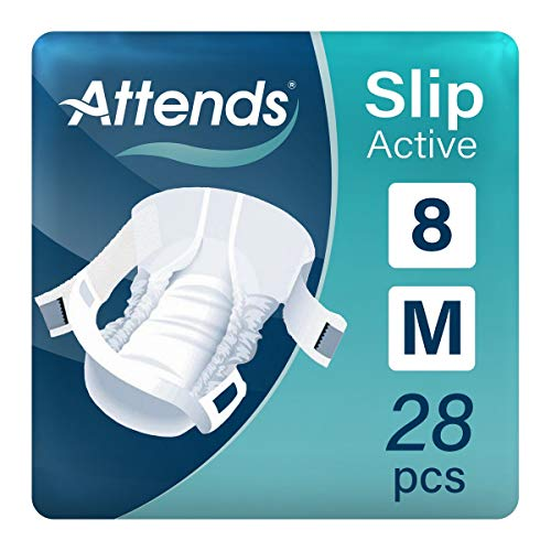 Attends Slip Active Medium (8) (75-110cm/29-43in) by Attends