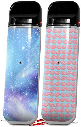 Skin Decal Wrap 2 Pack for Smok Novo v1 Dynamic Blue Galaxy VAPE NOT INCLUDED product image
